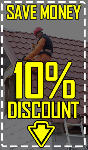Save money 10% Discount in Roofing Services